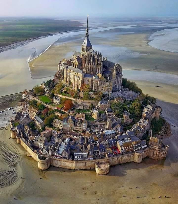Mont Saint Michel is The most important sights in France