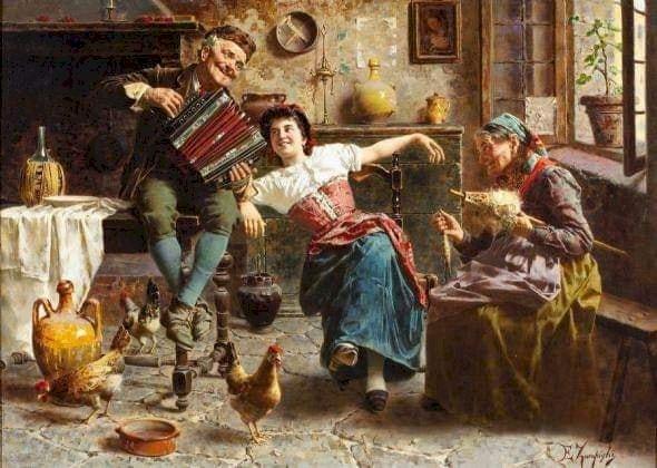 Daniel F. Gerhartz  American 21st Century Realist painter