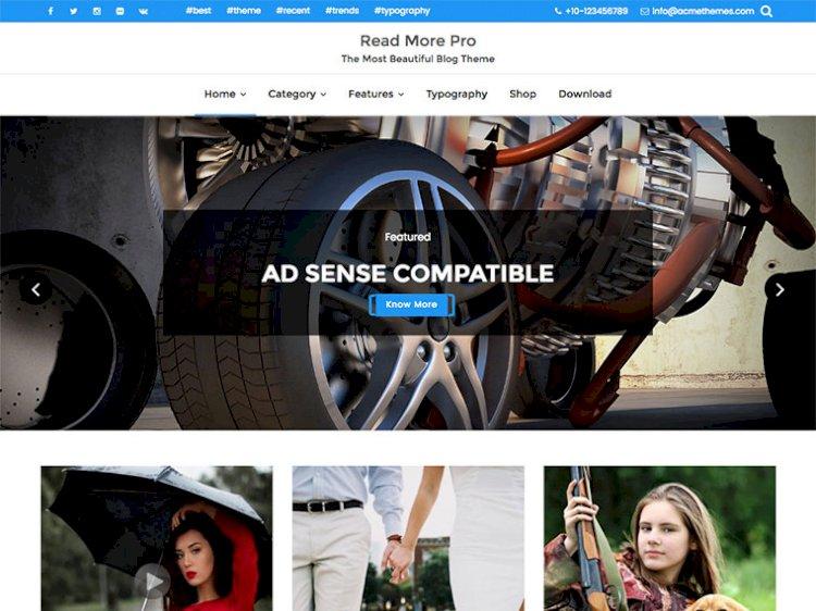 Read More Pro Premium Responsive & Flexible WordPress Theme
