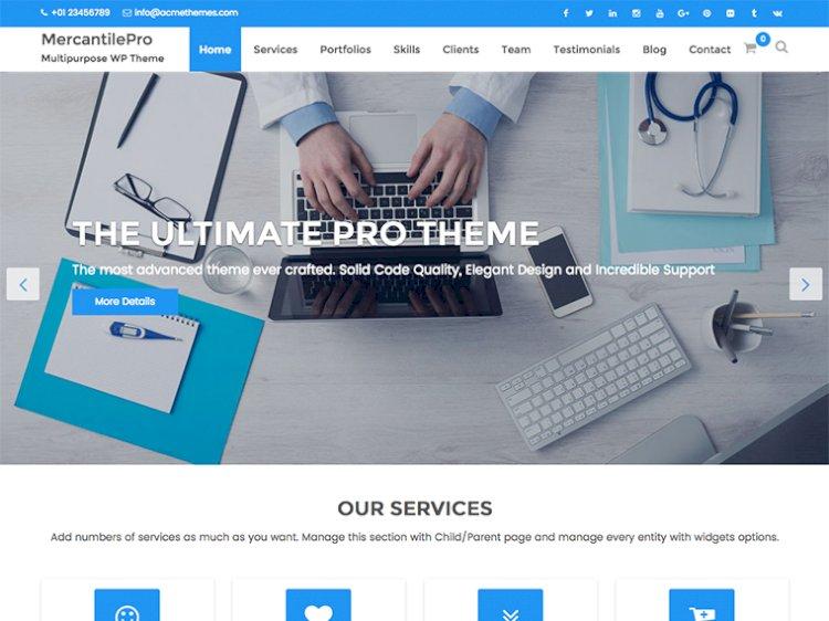 MercantilePro Best Premium Multipurpose WordPress Theme