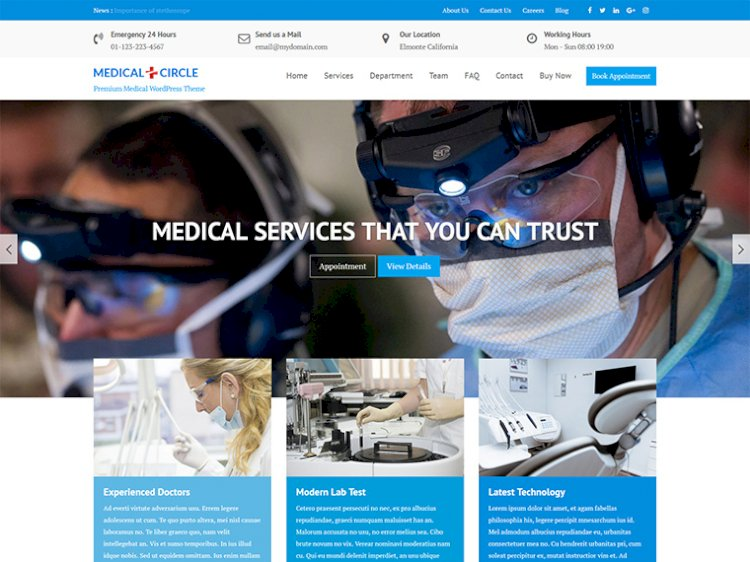 Medical & Health Multipurpose Premium WordPress Theme