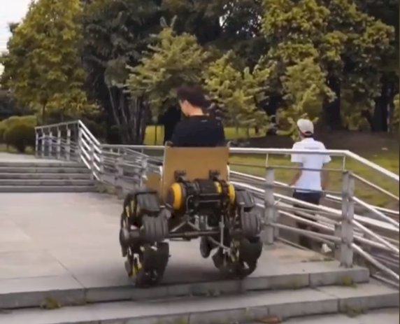 Innovation - Amazing driving wheel chair