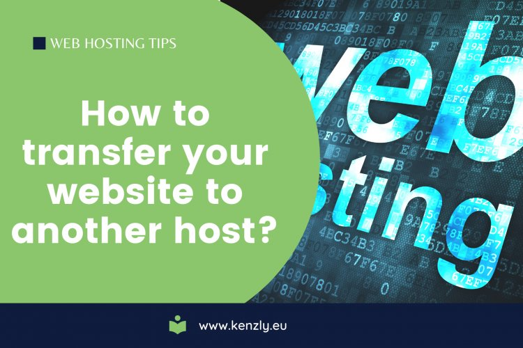 How to transfer your website to another host?