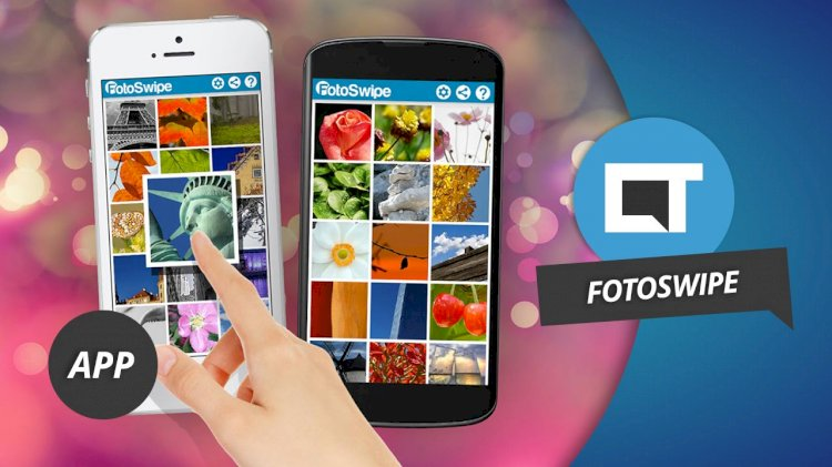FotoSwipe - Transfer any file to any device