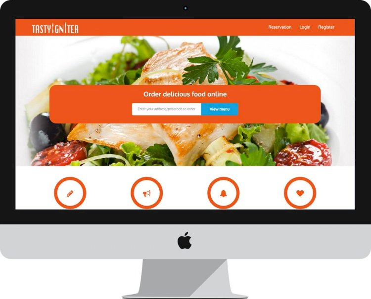 Online ordering, reservation and management system for restaurants